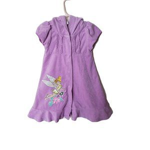 Disney Girls 3 Years Bath Robe Towel Short Sleeve
